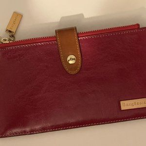 Borgasets Wine Colored Wallet